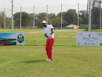 PGTI: M Dharma builds a two-shot lead in round three of Golconda Masters