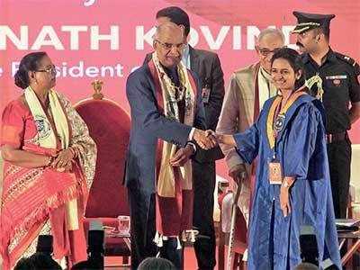 President Ram Nath Kovind addresses Gujarat University convocation, says universities should prepare employable graduates