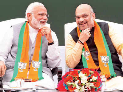 Modi-Shah focus on consolidating BJP's intrinsic strengths as NDA 2 completes 100 days in office