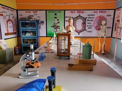 Science lab becomes success story for Sadopur School