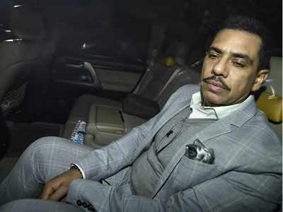 Robert Vadra appears before ED in money laundering case