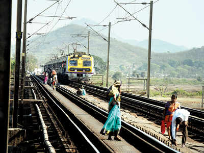 Coconut chucked from train injures one more woman; 21-year-old Vrushali Patil is second victim in less than a month