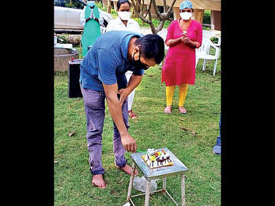 Lonavala centre turns isolation into a party for COVID patients