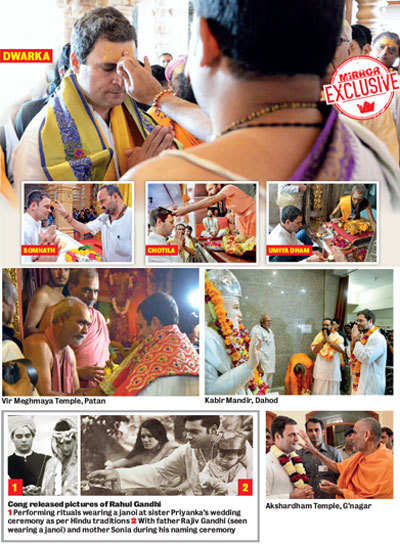 Gujarat Elections 2017: Somnath Distrusts Rahul Gandhi's religion