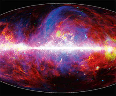 Virtual Earth-space telescope sheds new light on Milky Way
