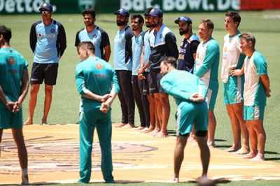 India vs Australia: Players take part in 'Barefoot Circle' to pay respect to 'traditional owners of land'