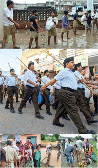 Khakhi shorts carry more weight for RSS than brown pants