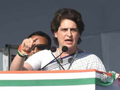 Priyanka Gandhi urges UP govt to run buses for stranded migrants, says 'use BJP flags on buses if you wish'