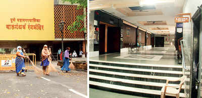 Eager to relaunch, maintenance on at city's auditoriums