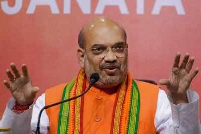 Amit Shah begins 3-day trip to Karnataka to re-energise BJP cadre