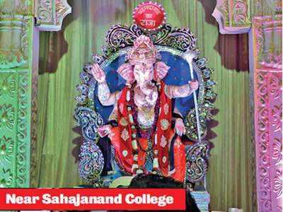 From Ahmedabad ka Raja to the Being Indian Ganpati, city celebrates Ganesh Chaturthi