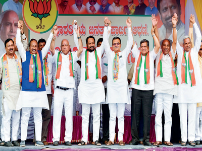 BJP survey hints bypoll won't be a smooth ride