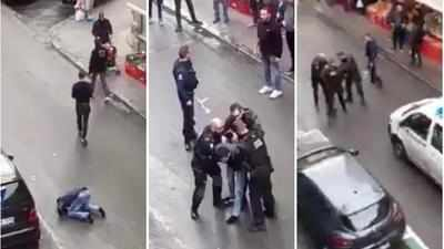 Fact check: Viral video of man reading namaz, blocking street is real and from Belgium
