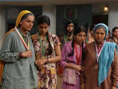 Saand Ki Aankh movie review: Taapsee Pannu, Bhumi Pednekar's film conveys an inspiring narrative