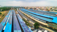 Chennai: Southern railways install rooftop solar panels at three stations