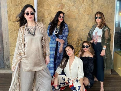 Kareena Kapoor Khan, Malaika Arora reunite with their girl squad after months