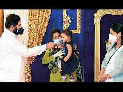 As baby's family tests +ve, Sainik takes over as mom