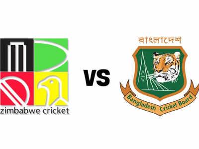 Live Cricket Score: Zimbabwe vs Bangladesh, 1st ODI