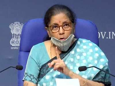 Nirmala Sitharaman on measures taken for EPF, TDS rate for non-salaried, taxation and Real estate sectors