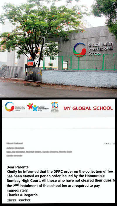 Parents at GIIS irked by school's late fee penalty