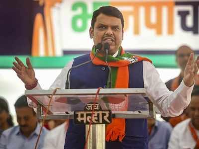 Shiv Sena might be wearing bangles, not us: Fadnavis slams Shiv Sena over Waris Pathan's remark