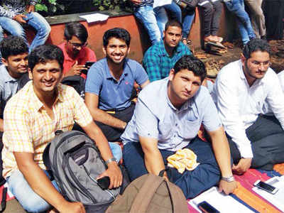 Law student stages hunger strike to seek pending result