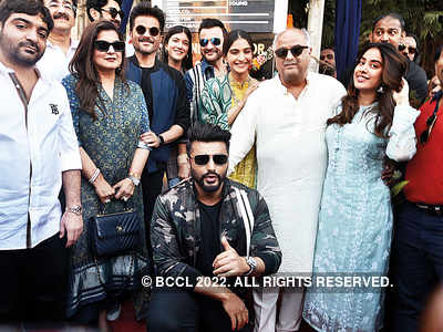 The Kapoors come together for inauguration of Surinder Kapoor Chowk