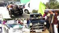 Tourism Promotion Council organises vintage car rally in Indore
