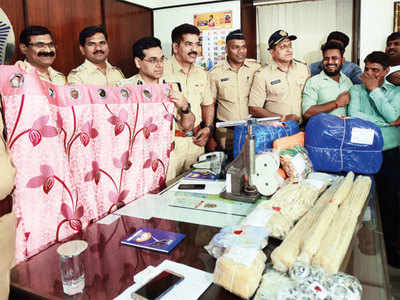Four foreigners held with cocaine worth Rs 38 crore