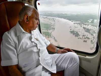 Will apprise PM Modi on enormity of flood damage: BS Yediyurappa