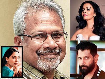 Mani Ratnam, Aishwarya Rai, Vikram reunite for a multi-lingual fictional historical, also starring Sobhita Dhulipala