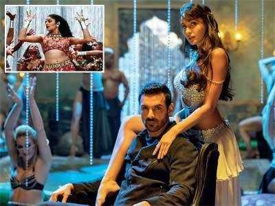 Nora Fatehi recreates Sushmita Sen's 'Dilbar' music for John Abraham's film Satyameva Jayate