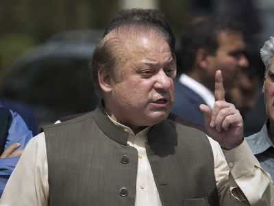 Pakistan's imprisoned Nawaz Sharif taken to hospital