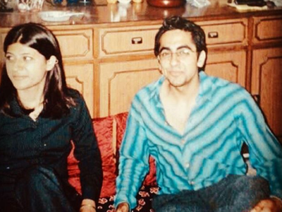 Throwback Tuesday: Ayushmann and Tahira are strong believers of social distancing and here's the proof