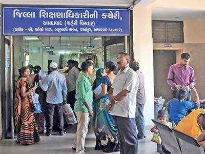 Gujarat: Right to Education, yes. Financial assistance, no as 800 parents borrow money to buy books, uniforms