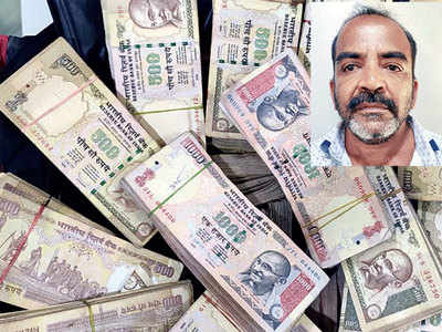 Scrapped notes worth Rs 1cr seized in Surat