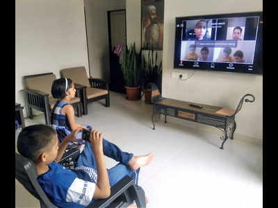Web sessions engage young ones at homes