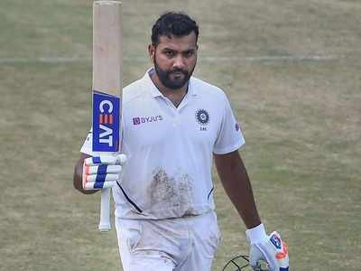 Rohit scores 2nd ton as India declare at 323/4, South Africa require 395 to win
