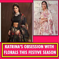 Katrina's obsession with floral this festive season