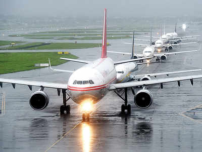 Poor visibility, delays hit flights