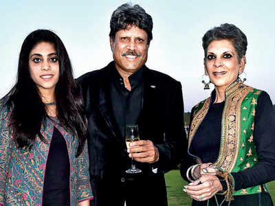 Kapil Dev's daughter Amiya is working as an assistant director to Kabir Khan on sports-drama '83
