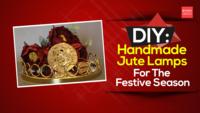 DIY: Handmade Jute Lamps For The Festive Season
