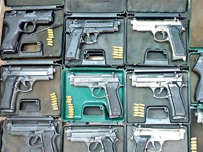 Pistols, firearms found in Sudaguntepalya house in Bengaluru; 2 held
