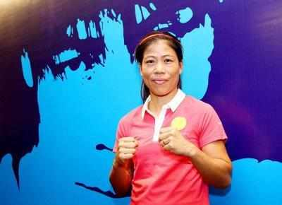 Mary Kom claims historic fifth gold at Asian Championships