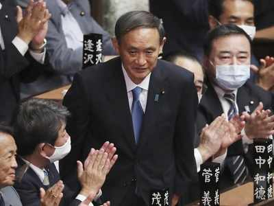 Yoshihide Suga elected by Parliament as Japan's new Prime Minister succeeding Shinzo Abe