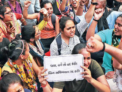 Gujarat clerk recruitment scam: As protests mount, govt forms SIT to probe 'irregularities'