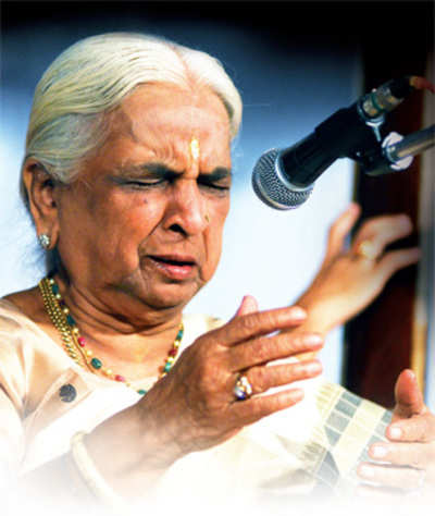 Girija Devi: 'Absence is a privilege'