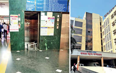 Stalled elevator traps several people for 30 min at Kamala Nehru