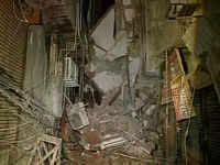 Building collapses in Delhi, 4 injured
