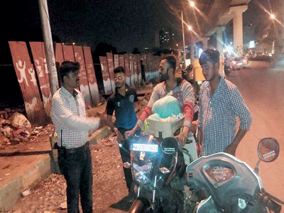 BBMP is on midnight hunt for trash tossers